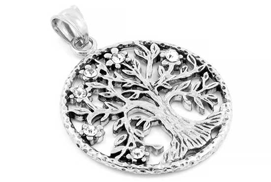Necklace, Pendant for Women - Symbol Tree of Life - Keltischer Lebensbaum